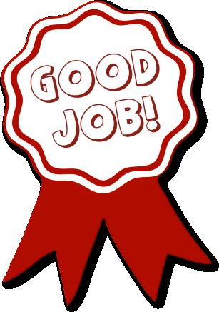 Good Job Greetings And Graphics. Free Award Ribbon Clipart .