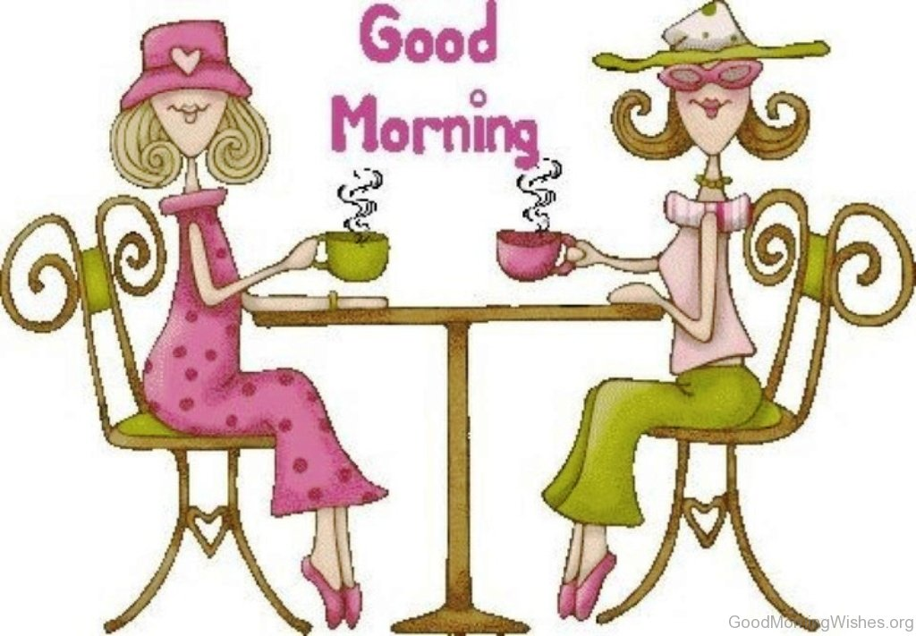 Good Morning Friend Clipart Image
