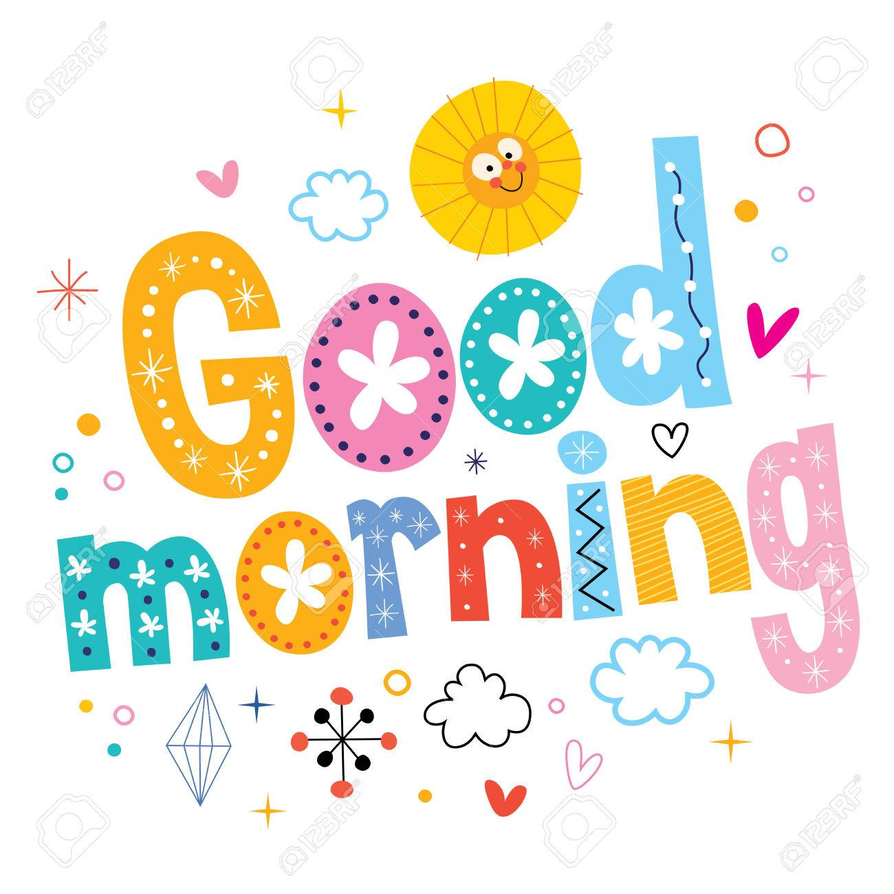 good morning Stock Vector - 54529581