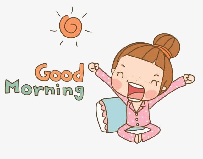 good morning sun cartoon character, Cartoon Characters, Sun, Good Morning  PNG Image and