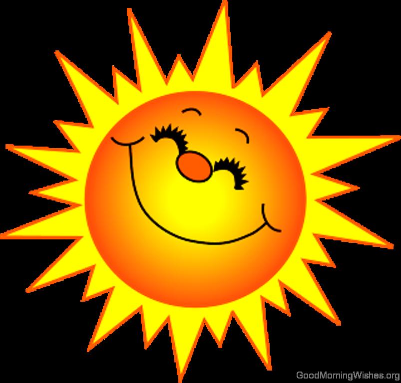 Good morning sunshine clipart