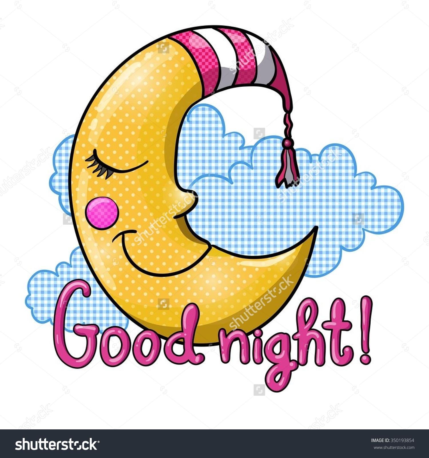 Good Night! Good Night! Goodnight Everyone Clipart