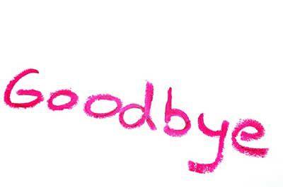 Goodbye Clip Art Text Photo