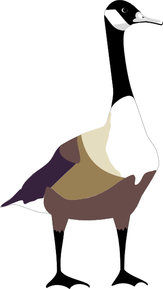Goose Clipart this image as: - Goose Clipart