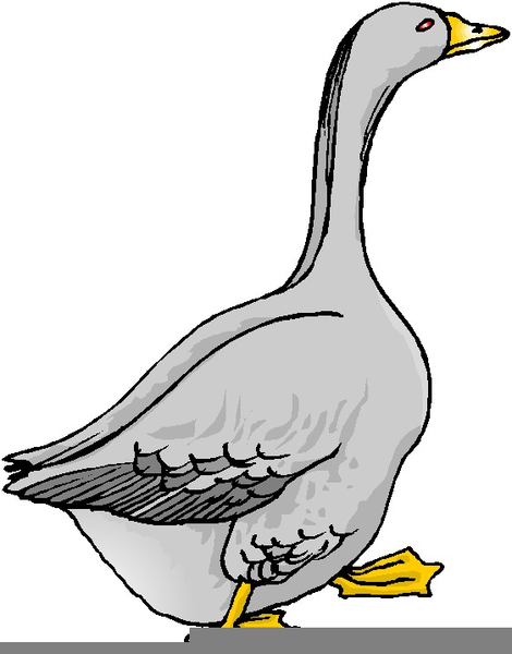 Goose Clipart this image as: