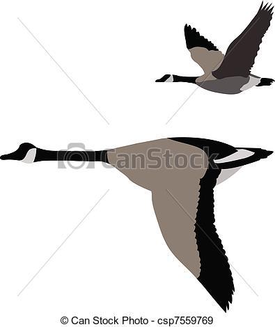 Goose Clip Art and Stock Illu - Goose Clipart