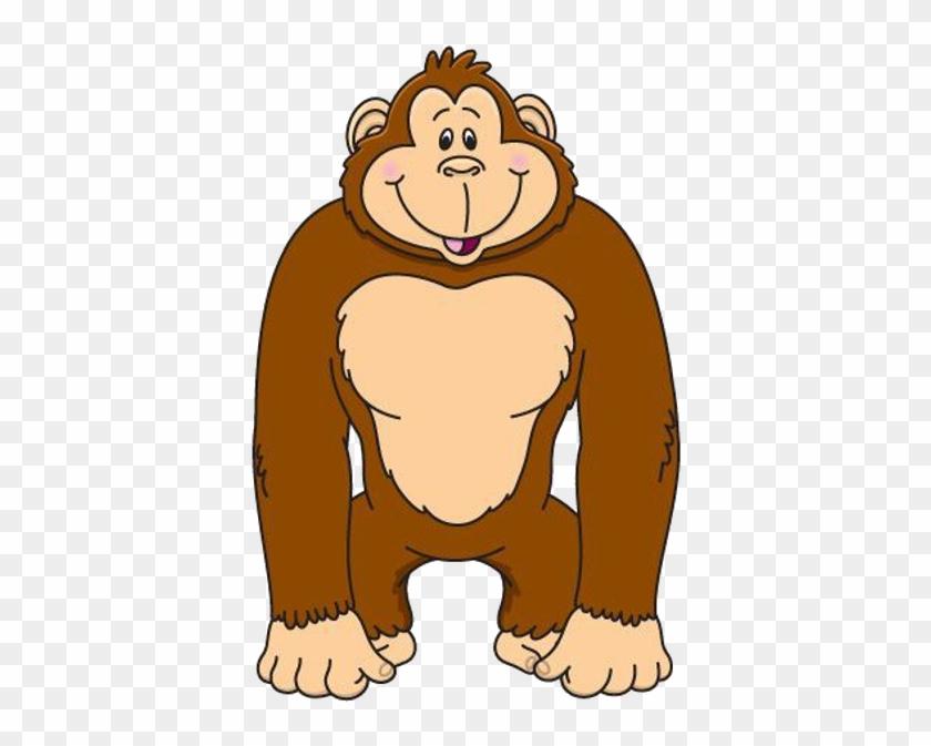 Baby Gorilla Clipart - Clipart Of A Gorilla #174817