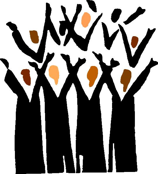 Gospel Choir Clip Art At Clker Com Vector Clip Art Online Royalty