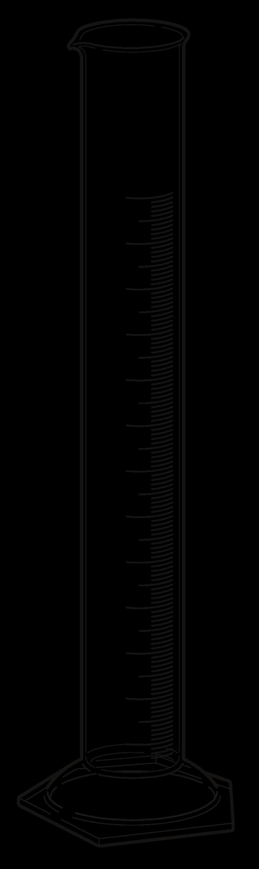 Graduated Cylinder Clip Art u0026middot; File Graduatedcylinder Wikimedia Commons
