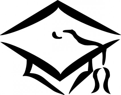 Graduation Cap clip art Vector clip art - Free vector for free
