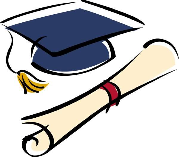 Graduation clipart clipart .