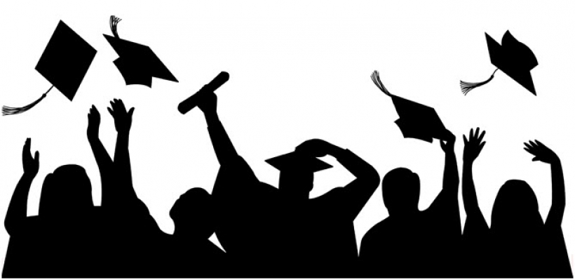 Graduate student clipart with - Graduation Clipart