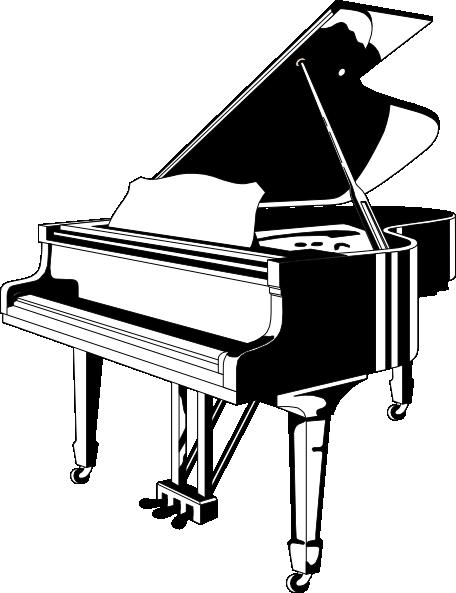 Grand Piano Clip Art