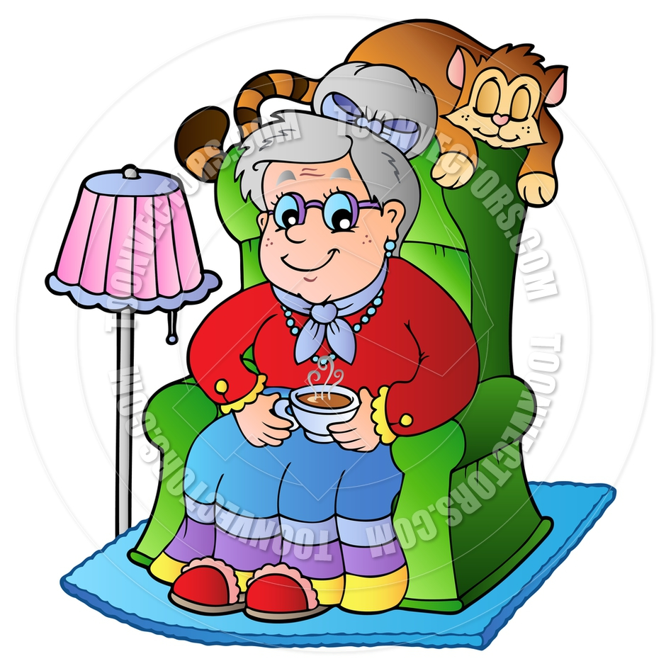 grandmother clip art