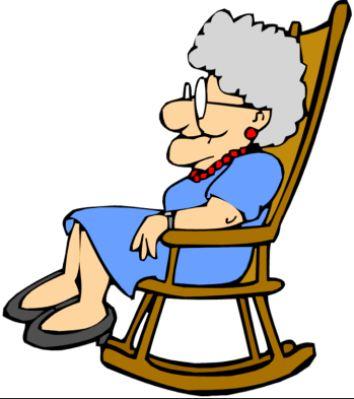 Granny Rocker Clipart Jpg