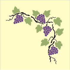 grape vine printable