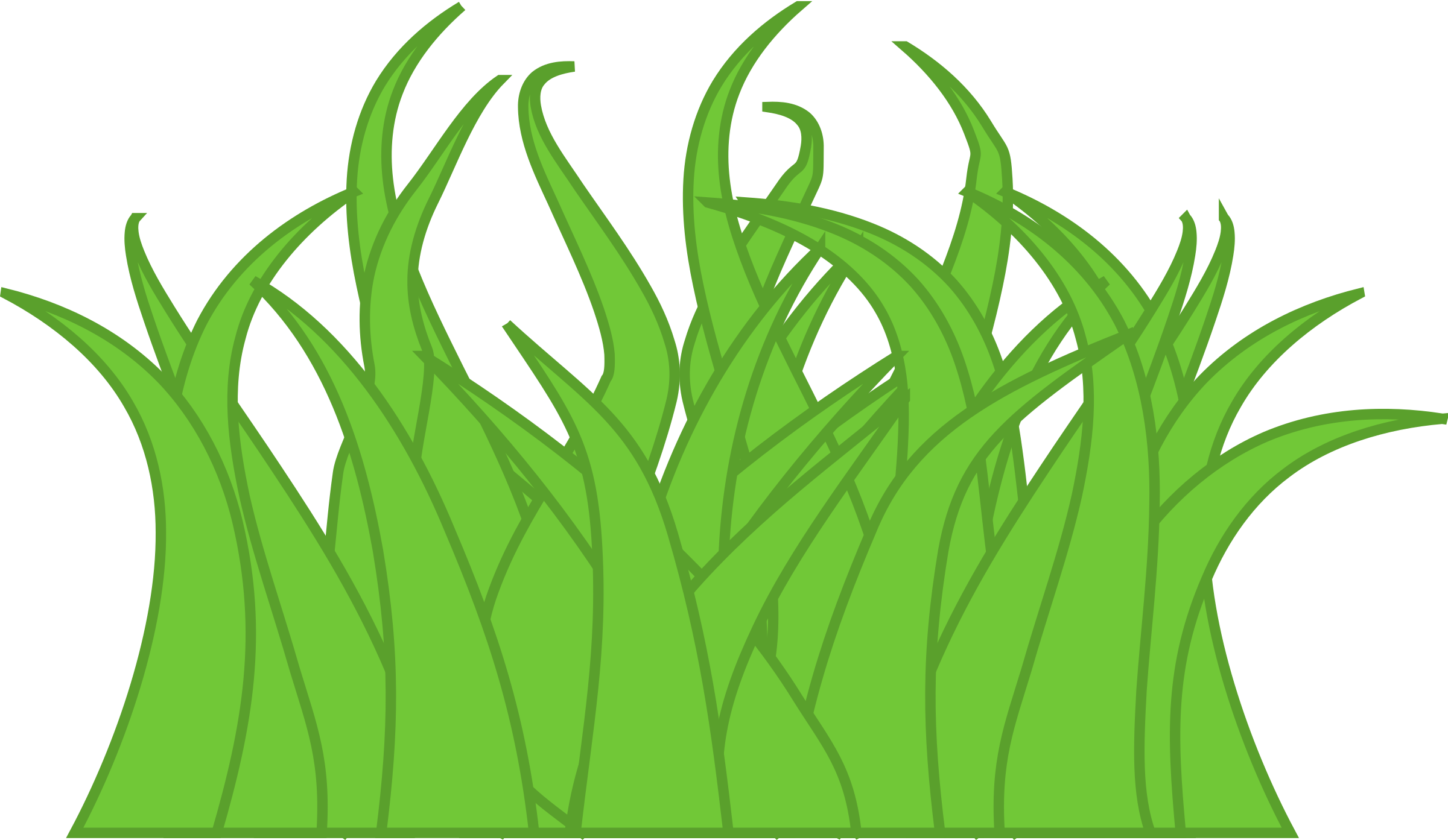 Grass Drawings Clipart