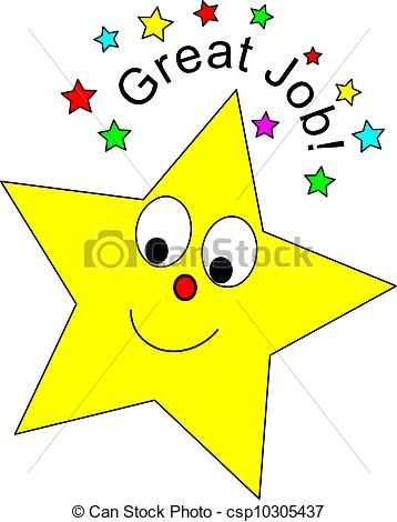 ... Great Job Star - Cute star and Great Job