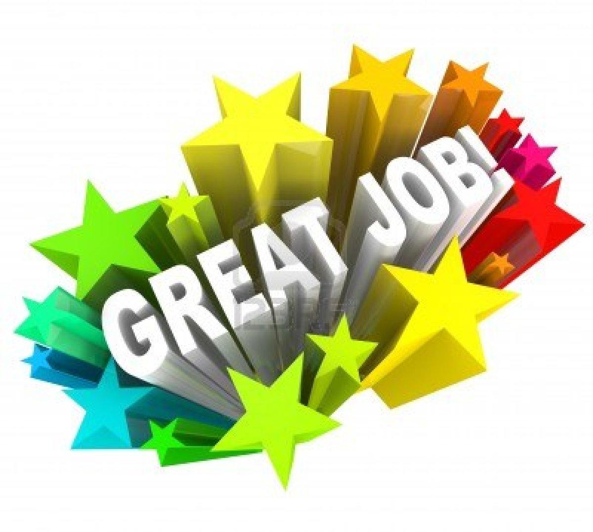 Great Job Stars Clipart