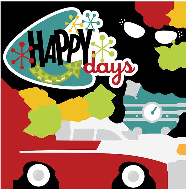 Great site for SVG files - Happy Days SVG 50u0026#39;s svg 50u0026#39;s clipart 50u0026#39;s ...