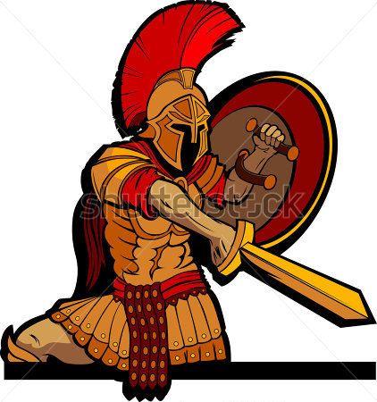 Greek Warrior Clipart - Free Clip Art Images