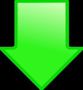 Green Arrow Down Clip Art At Clker Com Vector Clip Art Online