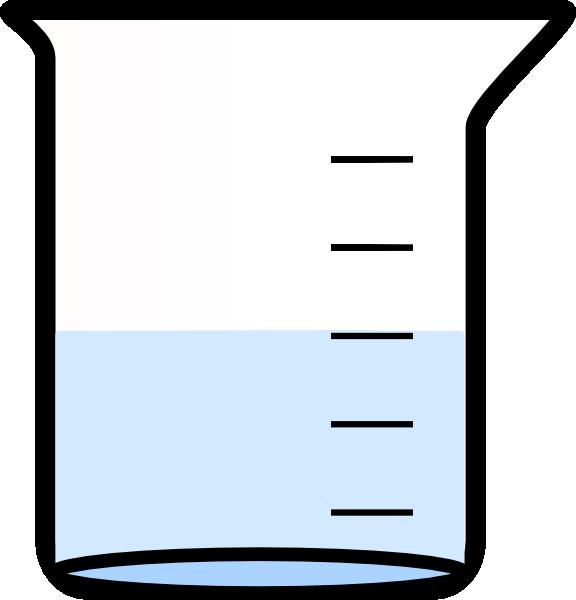 Green Beaker Clipart. Beaker Vector