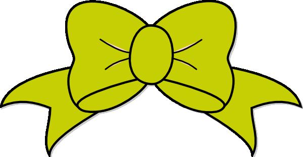 Green Bow Clip Art At Clker Com Vector Clip Art Online Royalty Free