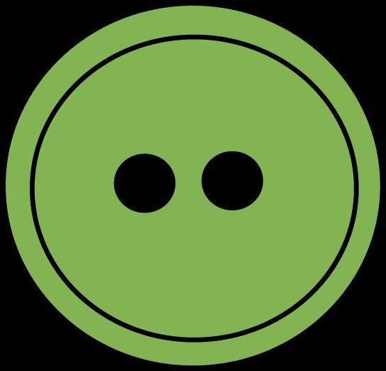 Green button clipart