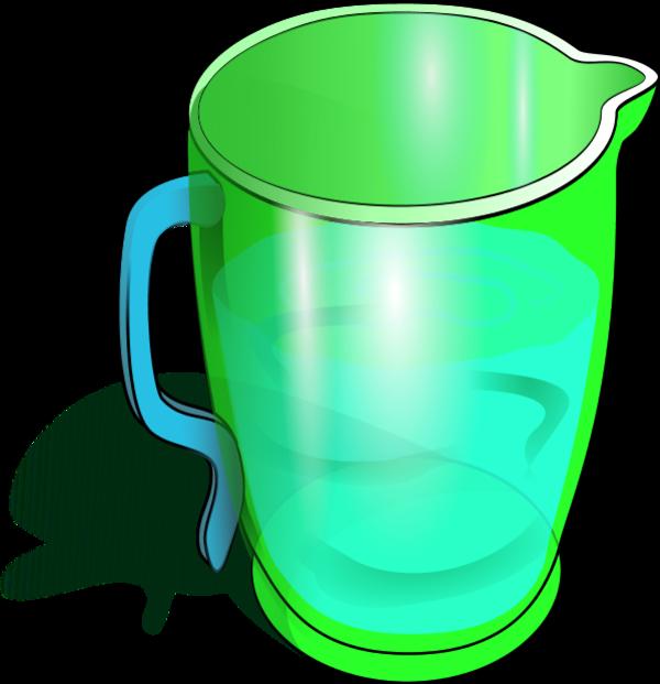 Green Jug Clipart