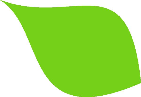 Green Leaf Clip Art At Clker Com Vector Clip Art Online Royalty