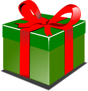 Green Present Clip Art At Clker Com Vector Clip Art Online Royalty