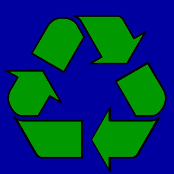 Green Recycle Symbol clip art. Free Symbols and Signs Clip .