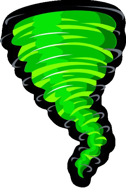 Green Tornado Clip Art At Clker Com Vector Clip Art Online Royalty