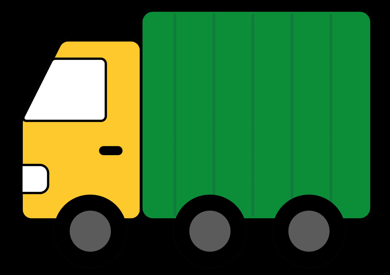 Green Toy Trucks Clipart #1