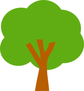 Green Tree Clip Art At Clker Com Vector Clip Art Online Royalty