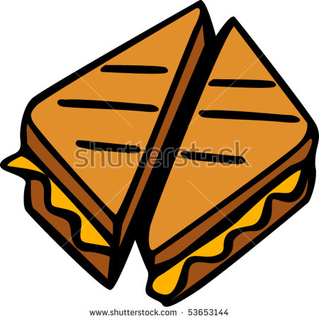 Grilled Cheese clipart transp - Grilled Cheese Clipart