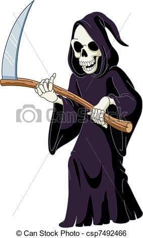 Grim reaper Clip Art ...