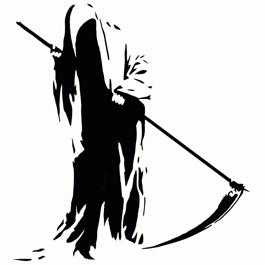 Grim Reaper Clipart by .