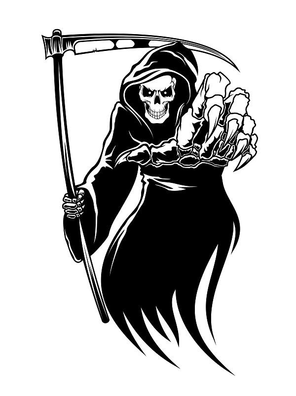 Grim reaper clipart - ClipartFest