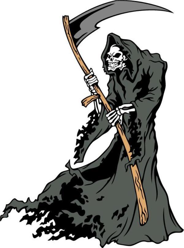 Grim reaper peanuts clip art