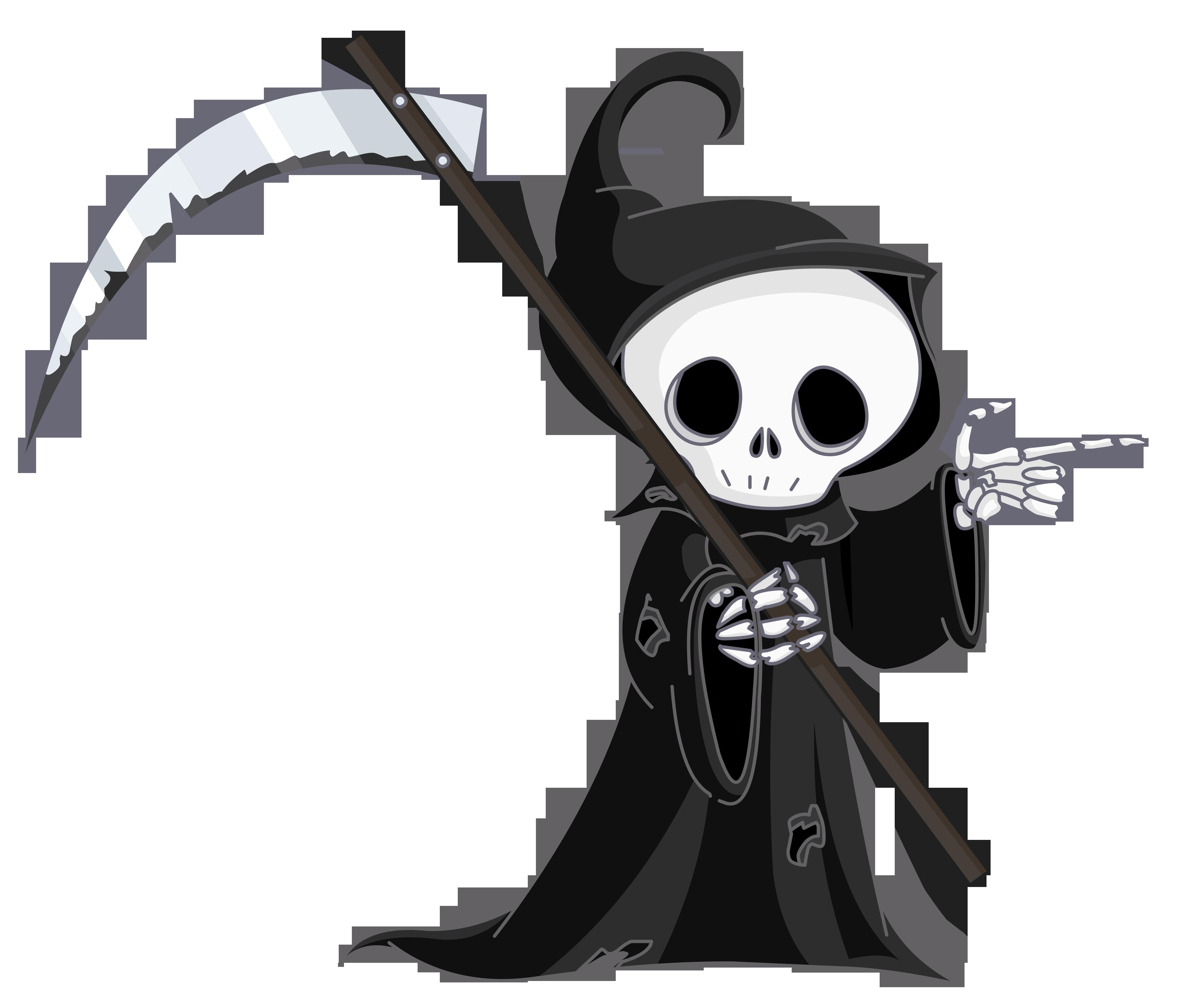 Grim Reaper PNG Clipart. View .