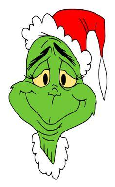 Grinch cartoon clipart