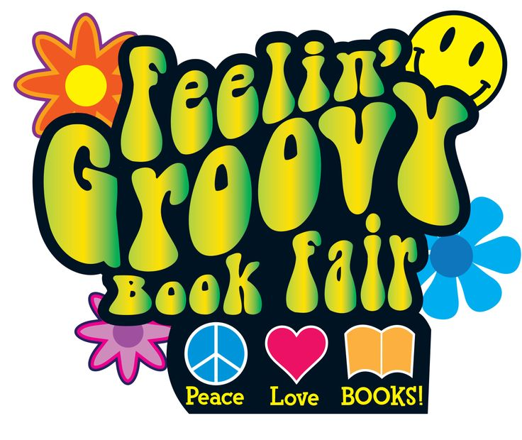 Groovy Book Fair: Peace, Love, BOOKS! | Scholastic Book Fairs : SPRING
