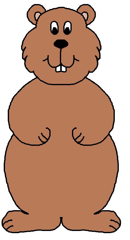 Groundhog 20clipart