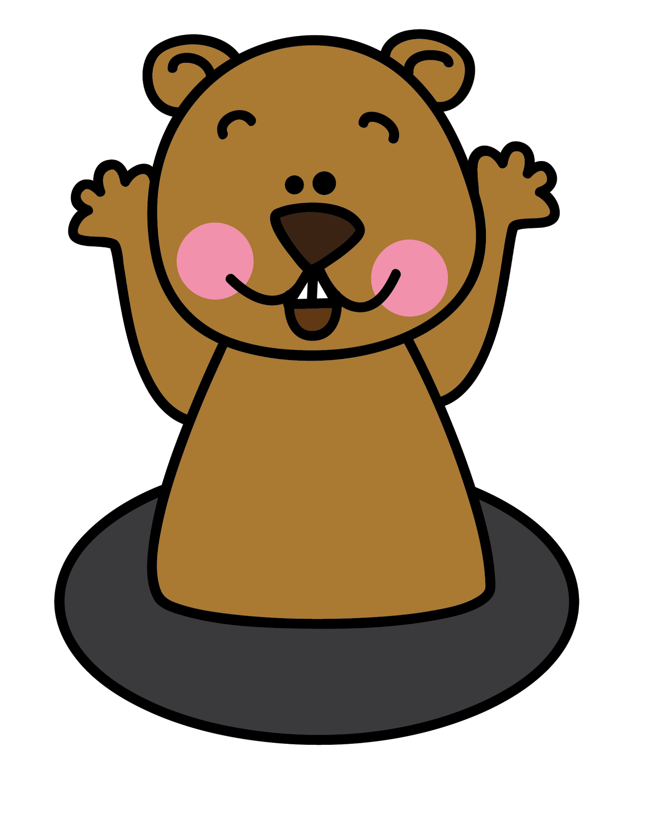 Groundhog 20clipart