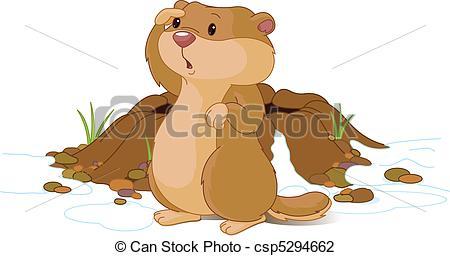 Groundhog Day - csp5294662 - Groundhog Clipart