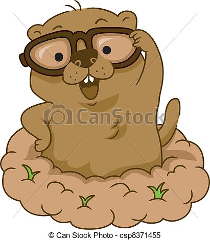 Groundhog Day - csp8371455