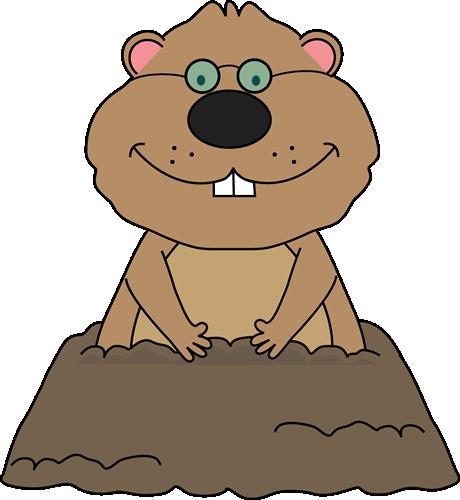 Groundhog Wearing Glasses