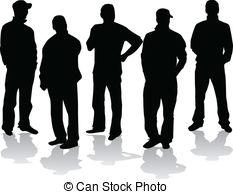 group of men Clip Artby ...